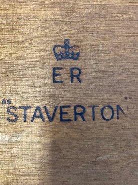 1950's Staverton Campaign Desk
