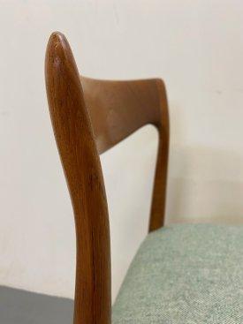 Arne Vodder Teak Dining Chairs