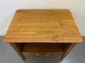 Drexel Walnut Bedside Cabinets