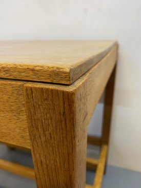 1950's Oak Occasional Table