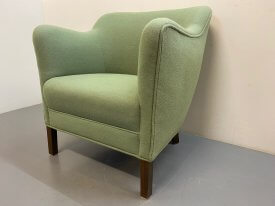 1940's Danish Cabinet Made Armchair